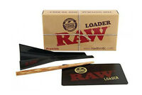 Raw Cone Loader King size Paper Cone Filler Tool with Wooden Poker Scratch Card
