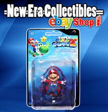 "Nintendo Super Mario Galaxy 2 Mario Mini 2"" Figure Keychain Collection"