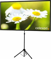 celexon 90 inch Portable, Projector Screen with pre-Mounted Stand