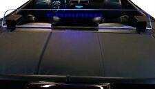 Convertible Wind deflector Camaro 5 LED blue light Wind screen Windblocker