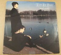 """Tears For Fears : Mad World : Vintage 7"""" Vinyl Single from 1982."""