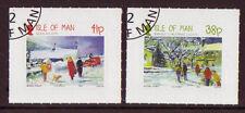 Seasonal, Christmas Used Manx Regional Stamp Issues