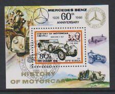 Corée - 1986, Histoire De Le Moteur Voiture, Mercedes Feuille - F/U - Sg MSN2567
