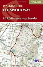 Cotswold Way Map Booklet: 1:25,000 OS Route Mapping (Cicerone Guide) by  | Paper