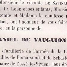 Charles Stanislas Daniel De Vauguion Cossé-le-Vivien 1871