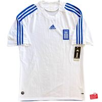Authentic Adidas Greece 2008/09 Home Jersey. BNWT, Size L.