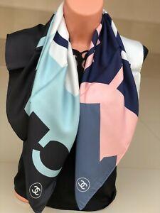 Very beautiful women's silk scarf CHANEL