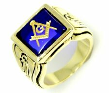 Stainless Steel Sapphire Fashion Rings