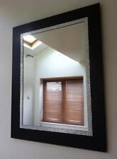 NERO E DIAMANTE Muro Bagno Corridoio Mantello Specchio Stanza Ragazze Comò Specchio Nuovo