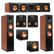 Klipsch 5.2 Cherry System with 2 RP-280F Tower Speakers, 1 RP-440C Center Speake