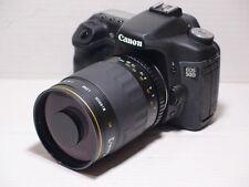 Lente de 500 mm = 750 mm En Canon Digital 7D 70D 60D para fotografía de vida silvestre 550D EOS