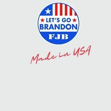 Lets Go Brandon Sticker Decal Made in the Usa