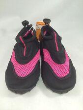Kids Water Shoes / Aqua shoes - Sizes 2-3 Large pink ad black