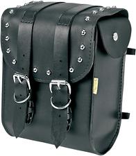 Willie & Max Ranger Studded Leather Motorcycle Sissy Bar Bag Harley Davidson