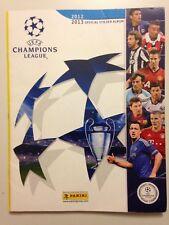 STICKER ALBUM PANINI UEFA CHAMPIONS LEAGUE 2012-2013