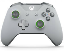 Grey/Green Xbox One S / X Rapid Fire Modded Controller for COD WW2  &more