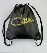 CAZAL BLACK NYLON DRAWSTRING SPORT BACKPACK SHOULDER BAG