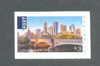 Australia Beautiful Cities-Melbourne - self-adhesive mnh (1) 2018