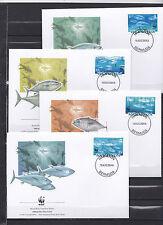 Bermuda 2004 - FDC - Vissen/Fish/Fische -> WWF