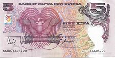 PAPUA NEW GUINEA 2007 5 Kina P34 XIII South Pacific Games UNC