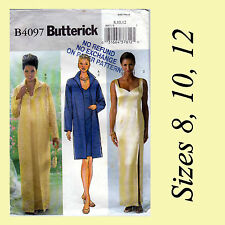 Formal Evening Dresses Gowns Clutch Coat Butterick 4097 Sewing Pattern