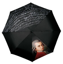 "Doppler Art Collection ""Mozart"" Music Print Folding Umbrella"
