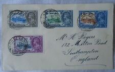 Hong Kong Silver Jubilee 1935 - cover with full set - KGV vgc