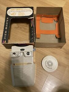 RARE GAF 1969 Talking View-Master in Original Box Disney Favorites Deluxe Pak