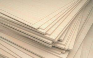 PiHaMi/® Sperrholz 10 mm Pappel Sperrholzplatte 50 x 30 cm Bastelholz Multiplexplatte 24,50 /€//m/²