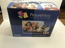 Epson PictureMate Personal Photo Lab printer Photo Printer. USB Port For Phone
