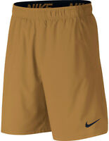 Pantaloncino Nike Flex Short Woven 2.0 Uomo Marrone Leggero Dri Fit Cintura