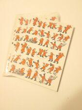 1979 Brighton England Santa Cards with envelopes 5 Blank Inside Christmas