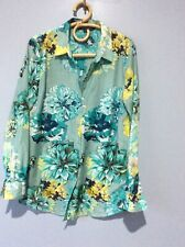 Sportscraft Cotton Silk Shirt Size 10