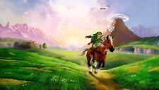 Zelda Poster Length :800 mm Height: 500 mm SKU: 6878