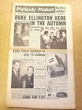 MELODY MAKER 1957 APRIL 13 ROSEMARY CLOONEY EDDIE FISHER JAZZ BIG BAND SWING