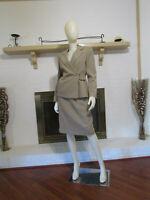KASPER Print Textured 2-Piece Business/Career Skirt Suit-Size 8