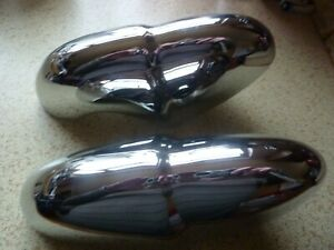 ROVER P4 Rear bumper Overriders. One pair.   Rechromed.  (1959 to 1964) models.