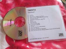 Twista KAMIKAZE Atlantic Records 16 track Promo CD Album