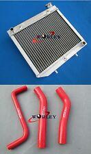 FOR Honda TXR450 TRX450R 2006-2009 06 07 08 09 Aluminum Radiator and Hose RED