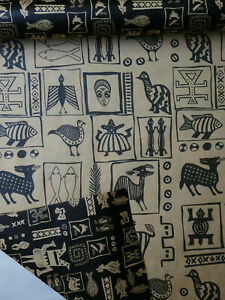 """Africa Art Gift Wrap - Wrapping Paper - Reversable - 24"""" wide x 6' long roll"""