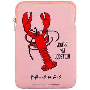 """Friends TV Series 'You're My Lobster' Pink 10"""" Tablet Case Official Product"""