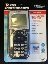 New Sealed Texas Instruments TI-84 Plus Graphing Calculator - Latest