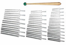 Ultimate Kit - Chakras - Planetary - Harmonic - 26 Tuning Forks for ENERGY FIELD
