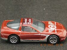 Mint in Box MATCHBOX 1996-97 Burgundy CORVETTE  '99 CONVENTION MIDWEST Dealer SP