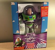 Disney Toy Story Buzz Lightyear Talking Action Figure 20th Anniversary Doll Toy