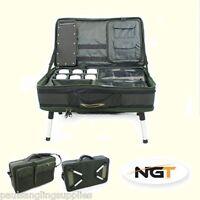 NGT Carp Fishing Tackle Bivvy Table Box System Carryall Bag Rig Station 588.88