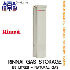 RINNAI HOTFLO 135L HOT WATER GAS STORAGE (MELBOURNE PICK UP) - NATURAL GAS