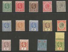 Saint Lucia SG91-105 Set di 1921-30 GV (solo 1x 2.5d Blu) montato MENTA GATTO £ 140