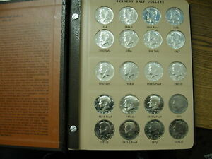 JFK Half Dollar Collection P-D-S plus Proof Only 1964-2011 all Uncirculated