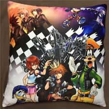 Anime Game Kingdom Hearts double two sided hugging Pillow Case Cover 070